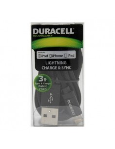 CABLE LIGHTNING DURACELL - 1 METRO
