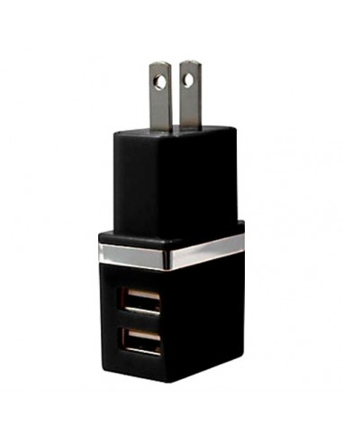 CARGADOR DE PARED CON DOBLE ENTRADA USB
