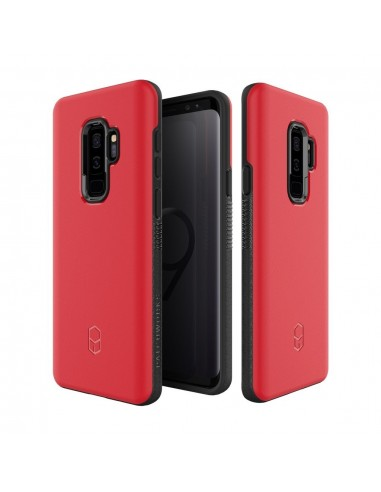 CASE PARA S9+ PATCHWORKS RED