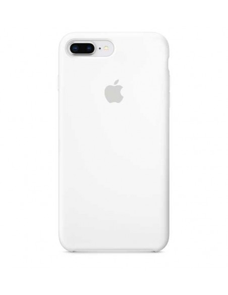 Protector Apple Mid Blue Silicone para iPhone 8 Plus  precio oferta promocion garantia case cover paraguay  envio protector