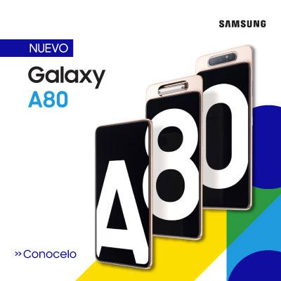 Nuevo Celular Samsung Galaxy A80 - Tienda oficial de Smartphone Samsung en Paraguay y al mejor precio