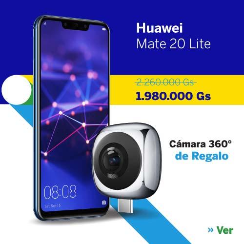 Celular - Smartphone Huawei Mate 20 Lite 64 GB al mejor precio en Paraguay