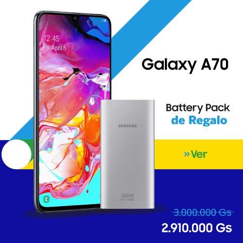 Celular - Smartphone Samsung Galaxy A70 - 128 GB al mejor precio en Paraguay