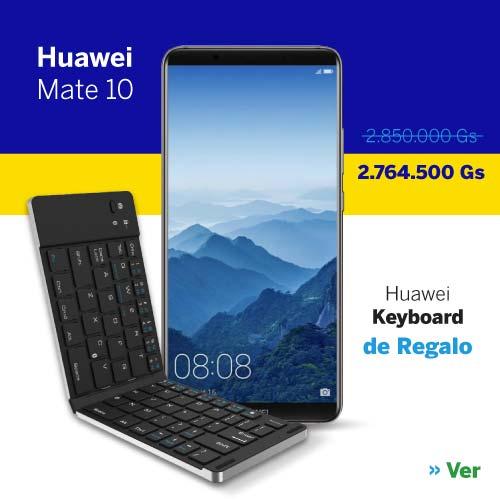 Celular Huawei Mate 10 64GB al mejor precio en Paraguay - Smartphone