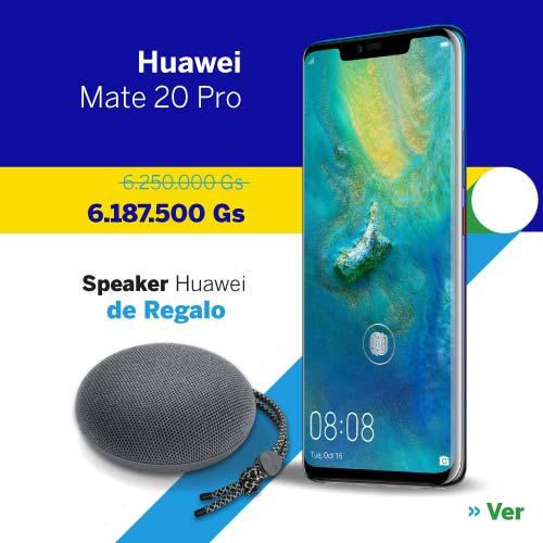 Celular Huawei Mate 20 Pro 128 GB al mejor precio en Paraguay - Smartphone