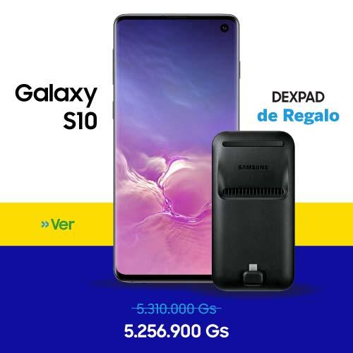 Celular - Smartphone Samsung Galaxy S10 - 128 GB al mejor precio en Paraguay