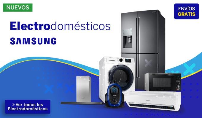Electrodomésticos Samsung al mejor precio y más barato en Paraguay - Encontra productos para tu hogar en Tienda Móvil Paraguay