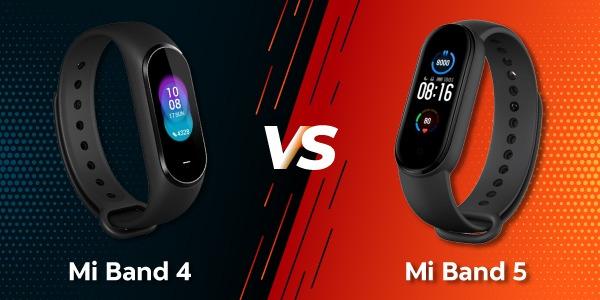 Xiaomi Mi Band 4 vs Mi Band 5